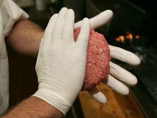 The burgers are made by hand at Frankie's Bar and Grill in Point Pleasant Beach.