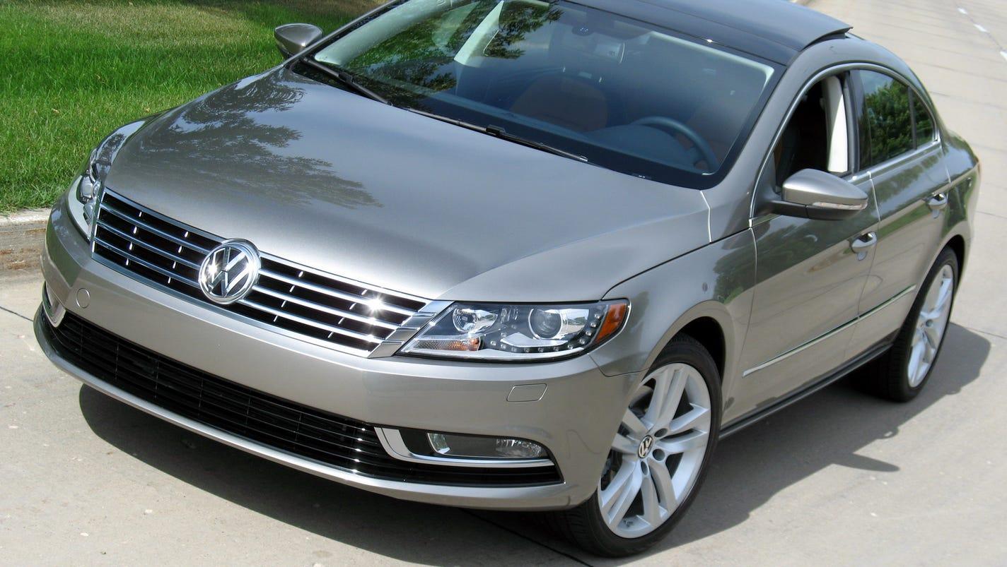 Stylishly Coupe Like 2014 Volkswagen Cc Sedan