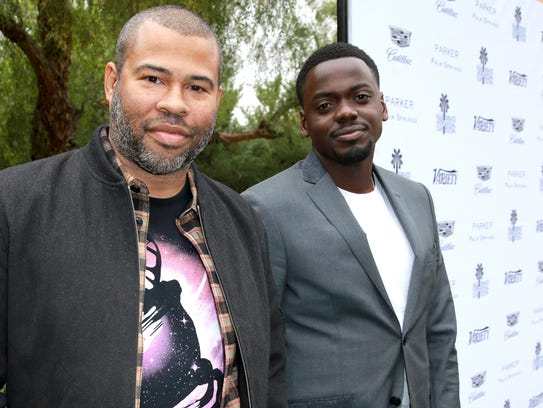"The nomination of Jordan Peele's, left, ""Get Out,"""