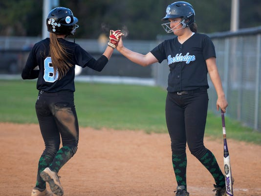 High School Softball: Rockledge at Palm Bay