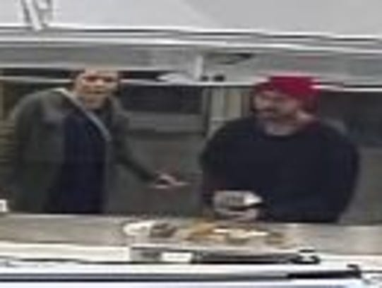 Police say this man and woman are suspected of stealing