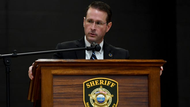 US Attorney General for the Western District of Tennessee Mike Dunavant gave the keynote address during a local ceremony for National Peace Officers Memorial Day, Tuesday, May 15.