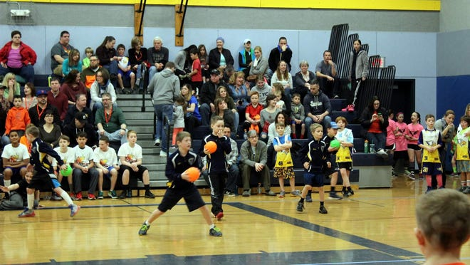 The Webster Cyclone Dusters were one of many youth teams who competed in the Dodge for Josh dodgeball tournament.