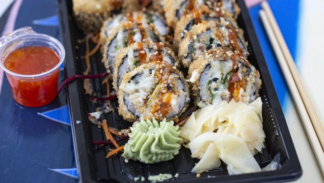 The To Wong Foo Roll from Jonys Sushi