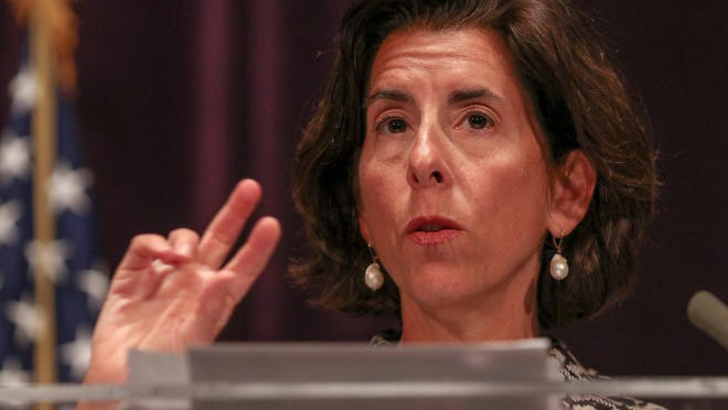 Gov. Gina Raimondo on Wednesday asked that Rhode Islanders treat the virus with the same care as they did in March and April.