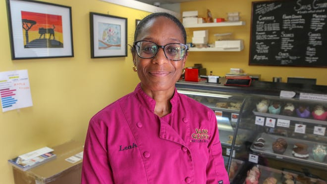 Dr. Leah Adams opened Sans Gluten in Johnston when she couldn't find any gluten-free sweets that she wanted to eat. Four years later, the bakery is thriving.