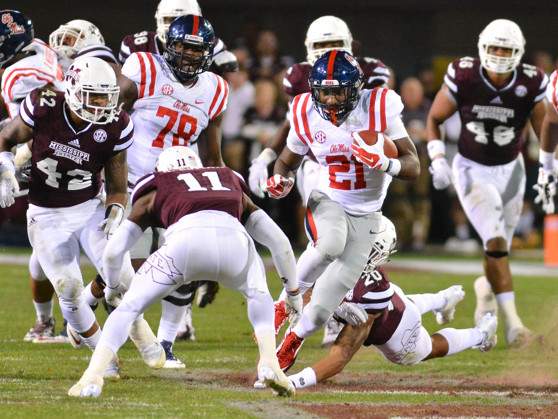 Ole Miss running back Akeem Judd fought through adversity in his life to become the Rebels' No. 2 running back this season.