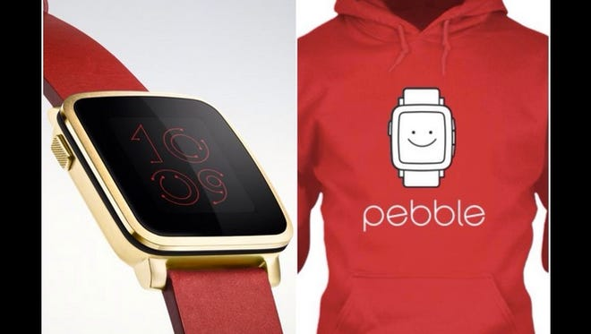 Pebble, a smartwatch company in competition with Apple Watch, made sure to remind Twitter users of their product during the #AppleWatch event.