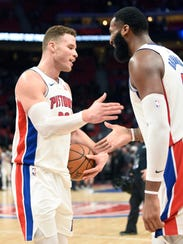 Andre Drummond and his Pistons teammates have embraced
