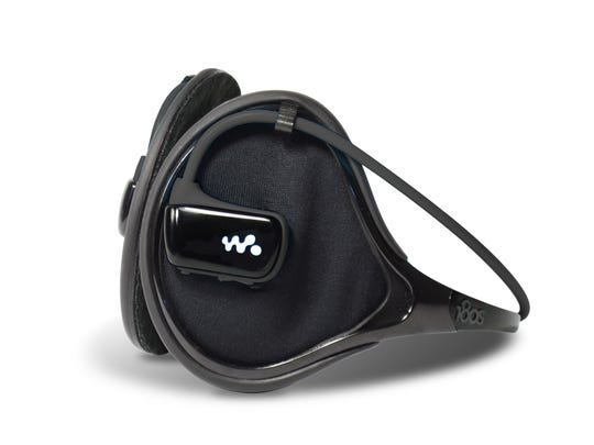 The 180s Exolite Groove is an ear warmer that comes bundled with its own sports MP3 player.