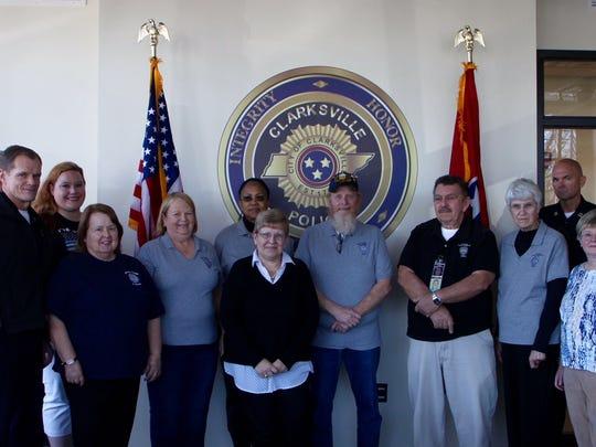 (left to right): Matt Thompson, CPD Chief Al Ansley,
