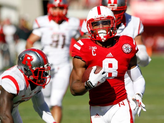 NCAA Football: Rutgers at Nebraska
