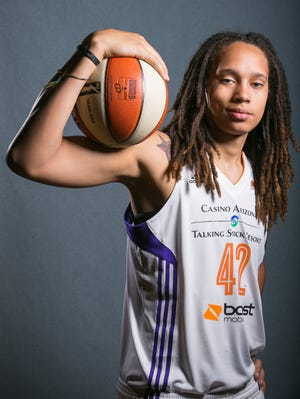 Brittney Griner has become a WNBA superstar for the Mercury.