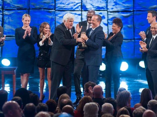 Mark Twain Prize honoree Jay Leno