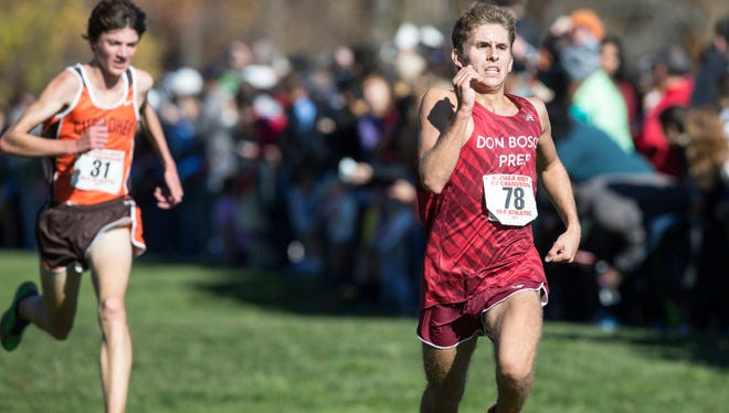 David Rosas finished fifth to lead Don Bosco.