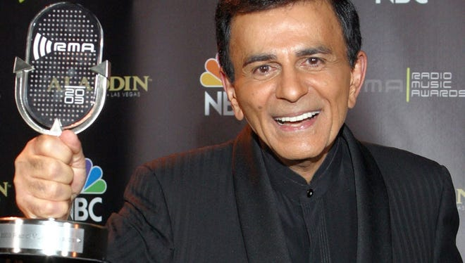 "Casey Kasem was one of the celebrities interviewed for ""Radio Waves."""