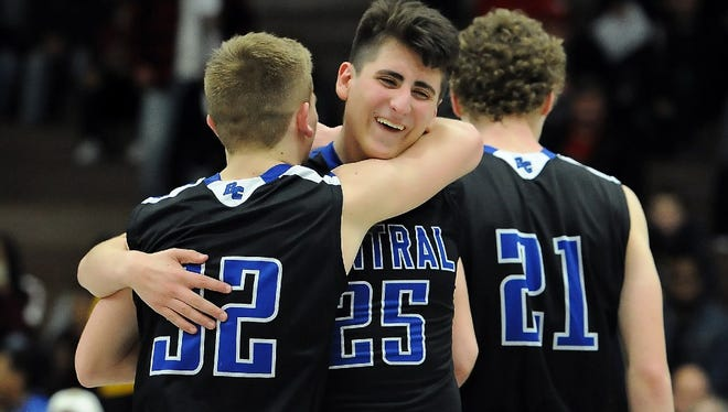 Members of the Brookfield Central boys basketball team compiled a combined 3.78 GPA this season, the top mark among all Division 1 schools in the state.