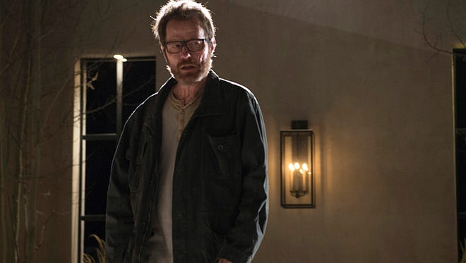 Bryan Cranston is Walter White in a scene from the series finale of 'Breaking Bad' on AMC.
