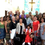 Classmates of the George Washington High School Class of 1962 gathered for a Reunion Mass at St. Jude Catholic Church on June 28 to celebrate 53 years since their graduation.