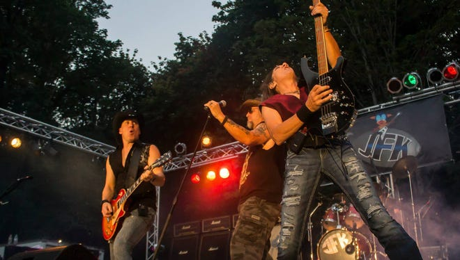 Salem/Keizer hard rock band JFK