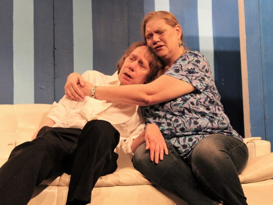 Rosemary Bunther (Carolyn Ainsworth) comforts her confused