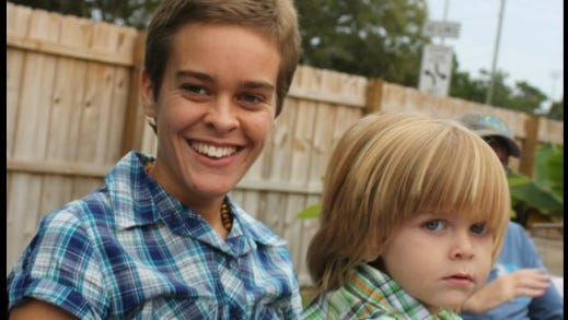 Lacey Spears and her son, Garnett. The 5-year-old Chestnut Ridge boy's recent death is being investigated by police.