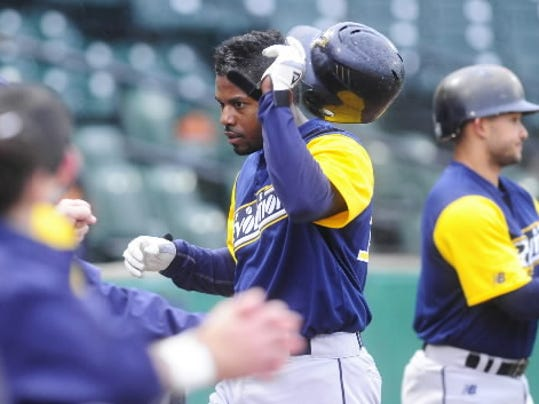 York Revolution second baseman Andres Perez, signed by the Revs over the offseason, leads the team in the sabermetric category Runs Created.