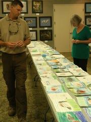 """Federal Junior Duck Stamp Judging is at   J. N. """"Ding"""" Darling National Wildlife Refuge, in Sanibel, on April 23."""