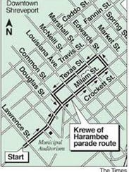 Krewe of Harambee Parade Route 2018