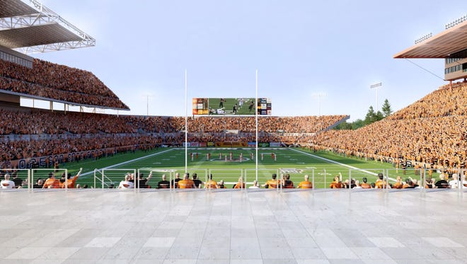Image from the Terrace at Reser Stadium.
