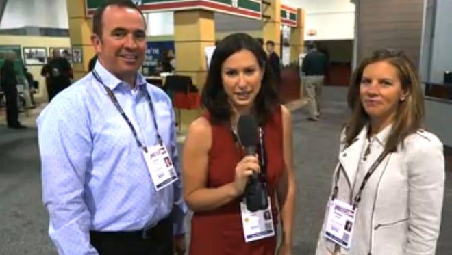 Jodi Schwan interviews Scott and Raquel Blount about retail growth in Sioux Falls.