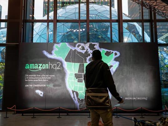 Amazon HQ2 Proposal Map - Day 1, Seattle, WA
