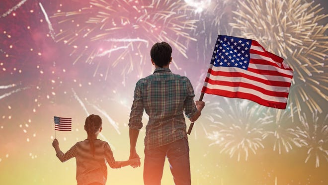 Safety is the priority when celebrating the Fourth of July with fireworks.