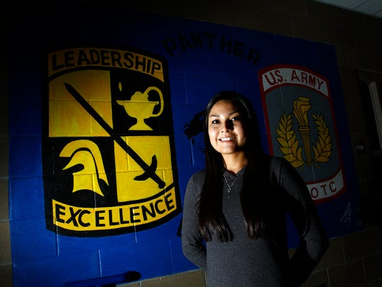 Piedra Vista High School's Belle Toney has earned an appointment to the U.S. Military Academy.