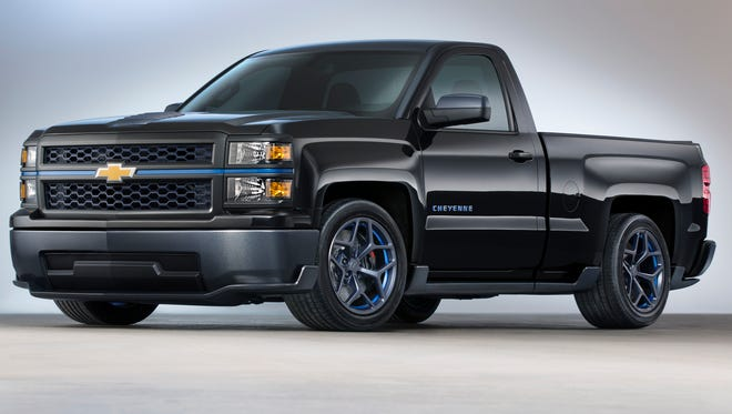 The Chevrolet Silverado Cheyenne concept embraces the adage that less is more.