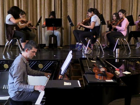 Charles duChateau, a music teacher and a professional