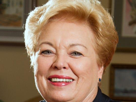 Sharon Butterworth, new board chair for the Paso del Norte Health Foundation.