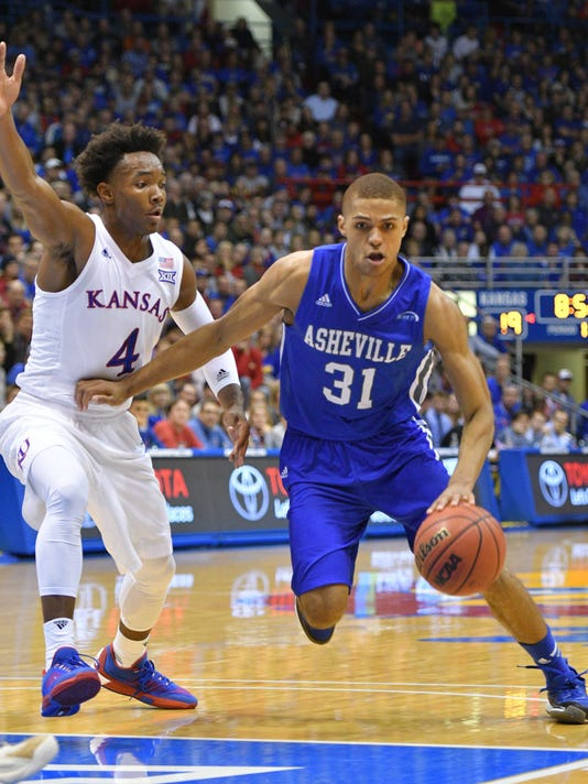 NCAA Basketball: NC-Asheville at Kansas