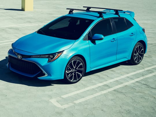 Toyota introduces the Corolla Hatchback for the New