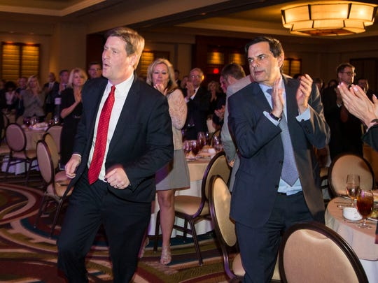 Phoenix Mayor Greg Stanton delivers his fourth State