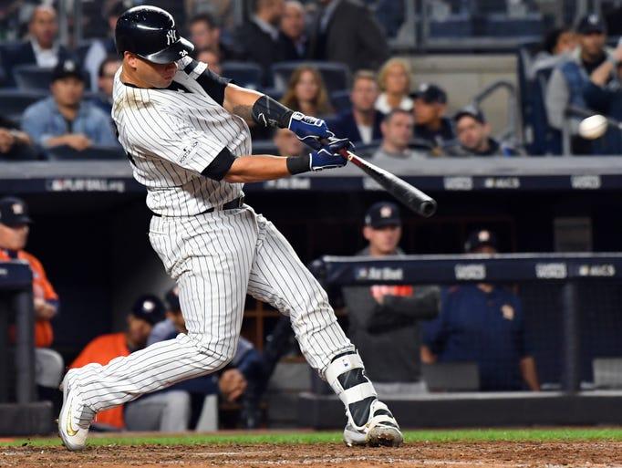 Catcher: Gary Sanchez, Yankees (1)