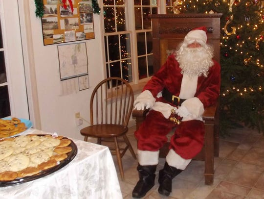 Santa Claus makes an appearance during Pawling Chamber