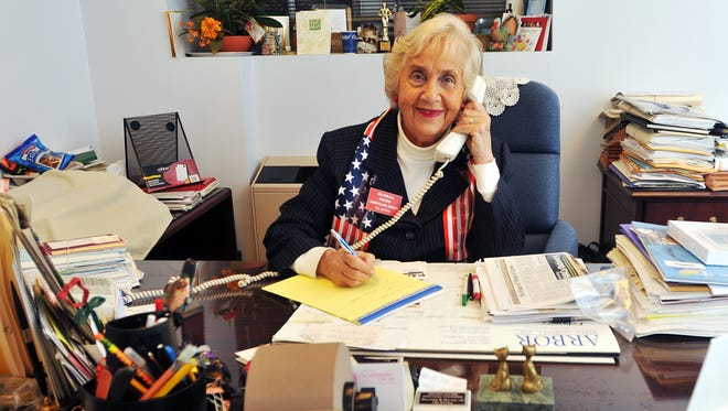 Gloria Noto served as the Cumberland County clerk for two decades.