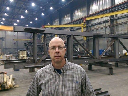 Dan Rooney, general manager of ADF International's Great Falls plant.