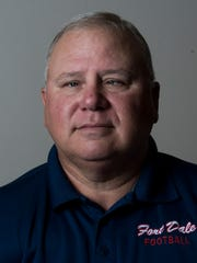 Fort Dale coach James Sampley during the Montgomery