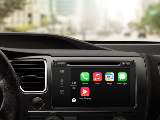 Apple unveils integrated car service carplay for Honda fit carplay