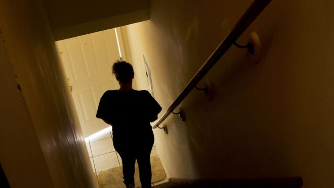 Amanda Carroll, a recovering heroin addict, is working to get her life back on track while living at the Jersey Shore Dream Center's shelter in Asbury Park.