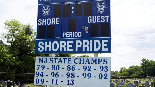 The state championships that the Shore Regional field hockey team has won