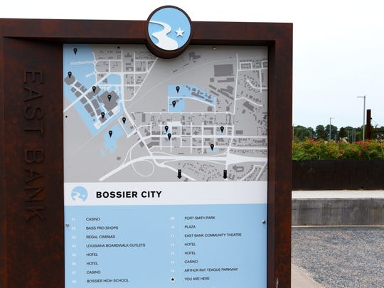 The East Bank neighborhood in Bossier City.