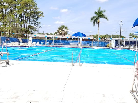 The deck at the North Fort Myers Community Pool sat sun soaked and unused last spring after Lee County officials shut it down for repair. The pool will be replaced a cost of about $2 million and will reopen early next year.